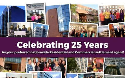 Res/Title Celebrates 25 Years!