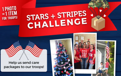 "July ""End of the Month for a Cause"" Stars and Stripes Challenge!"