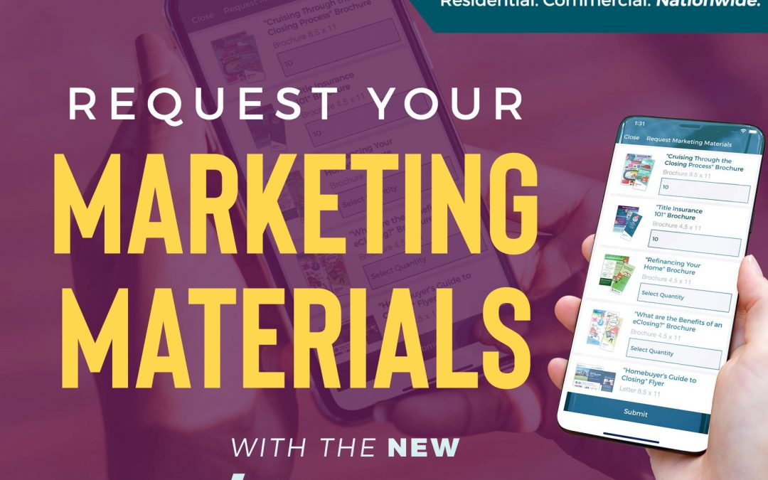 Request Your Co-Branded Marketing Materials