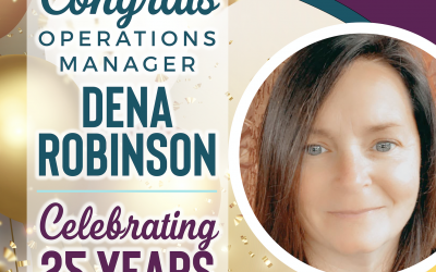 Happy 25th Anniversary Dena!